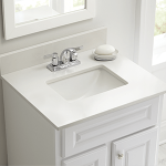 How to choose perfect bathroom vanity   cabinets with tops ?
