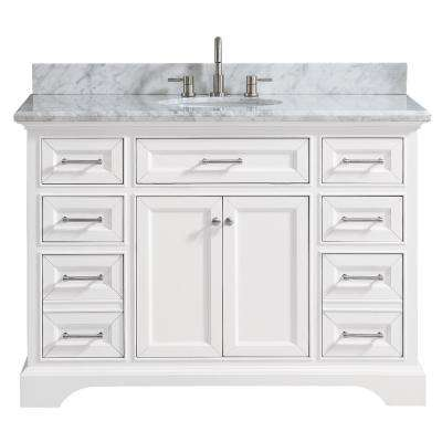 Windlowe 49 in. W x 22 in. D x 35 in. H Bath