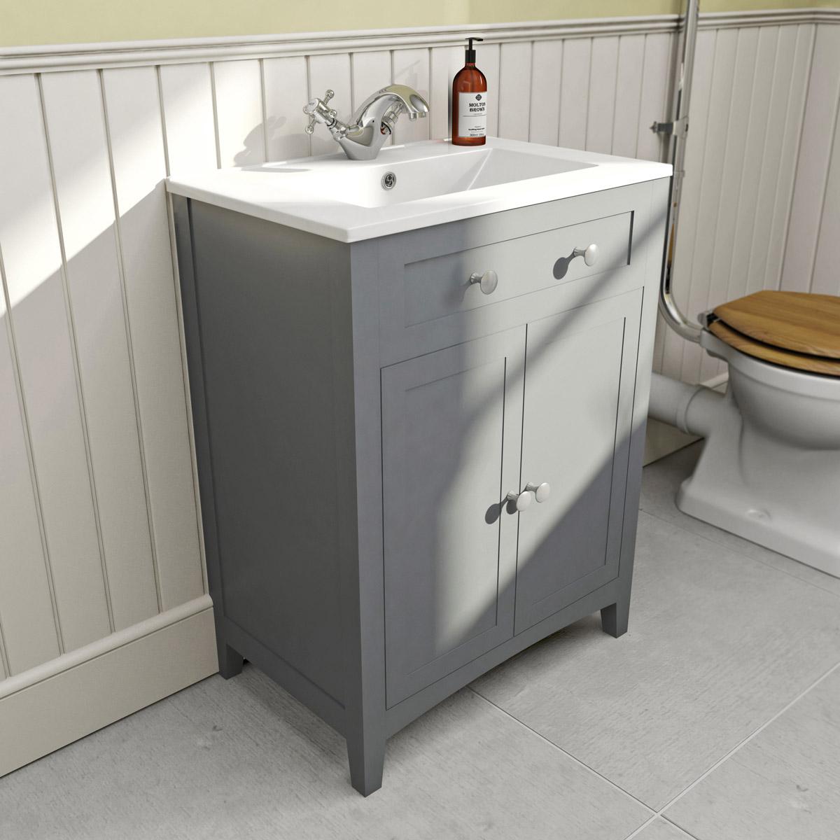 Efficient bathroom vanity   units