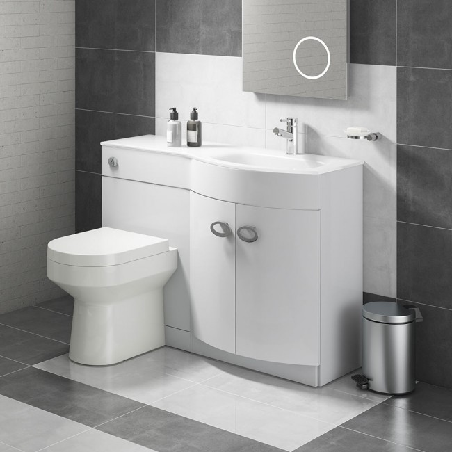 Luxury Toilet and Basin Combination Unit - Modern | UK | Drench