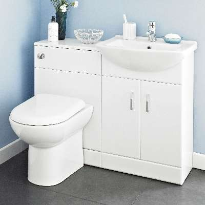 How to choose bathroom vanity   units with toilet