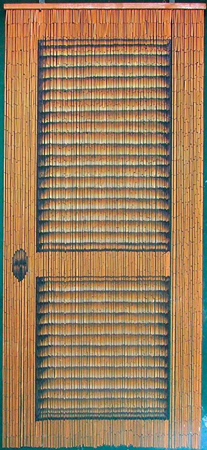 Louver Door Beaded Curtain 125 Strands (+hanging hardware)