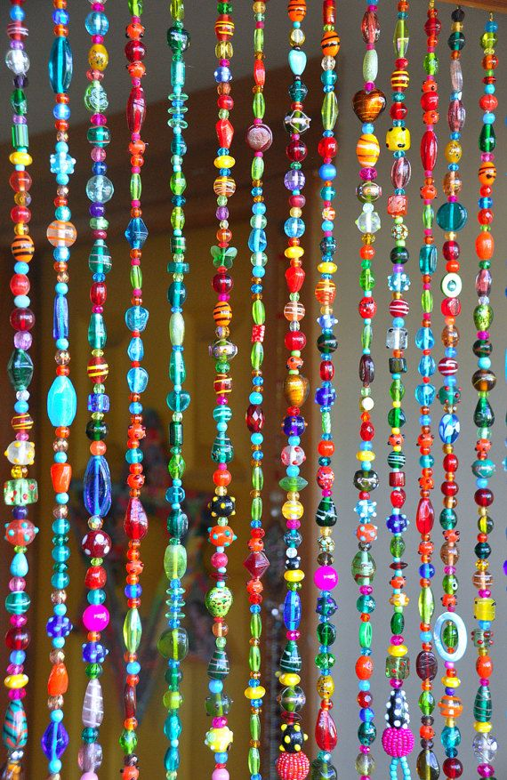 Colorful Hanging Door Beads-bead curtain-Glass Beaded Curtain-colorful  Glass Beaded Suncatcher-outdoor beaded door curtain-beaded glass curtain  Glass can be