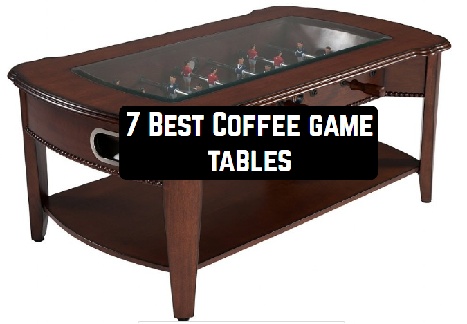 A stylish, interesting coffee table perfectly complements the interior of  the living room. And if such a table is supplemented by some built-in board  game,