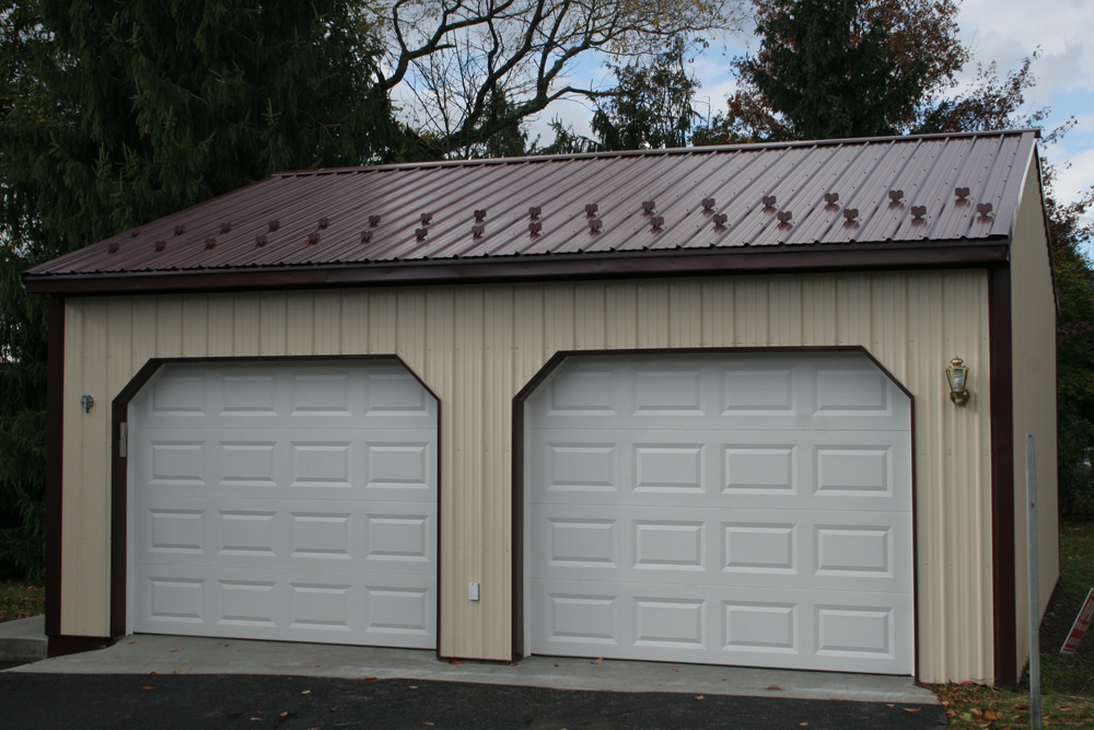 Best 2 Car Metal Garage