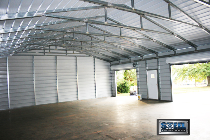 Types of Metal Buildings Steel Building Garages