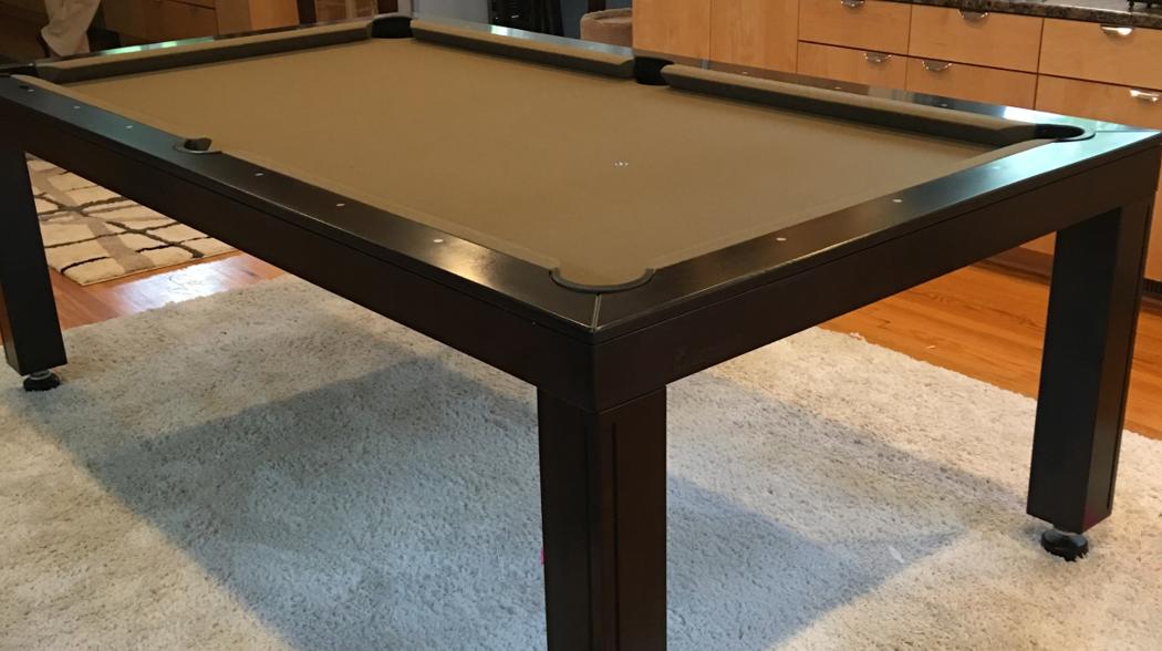 Simplistic Dining Pool Table