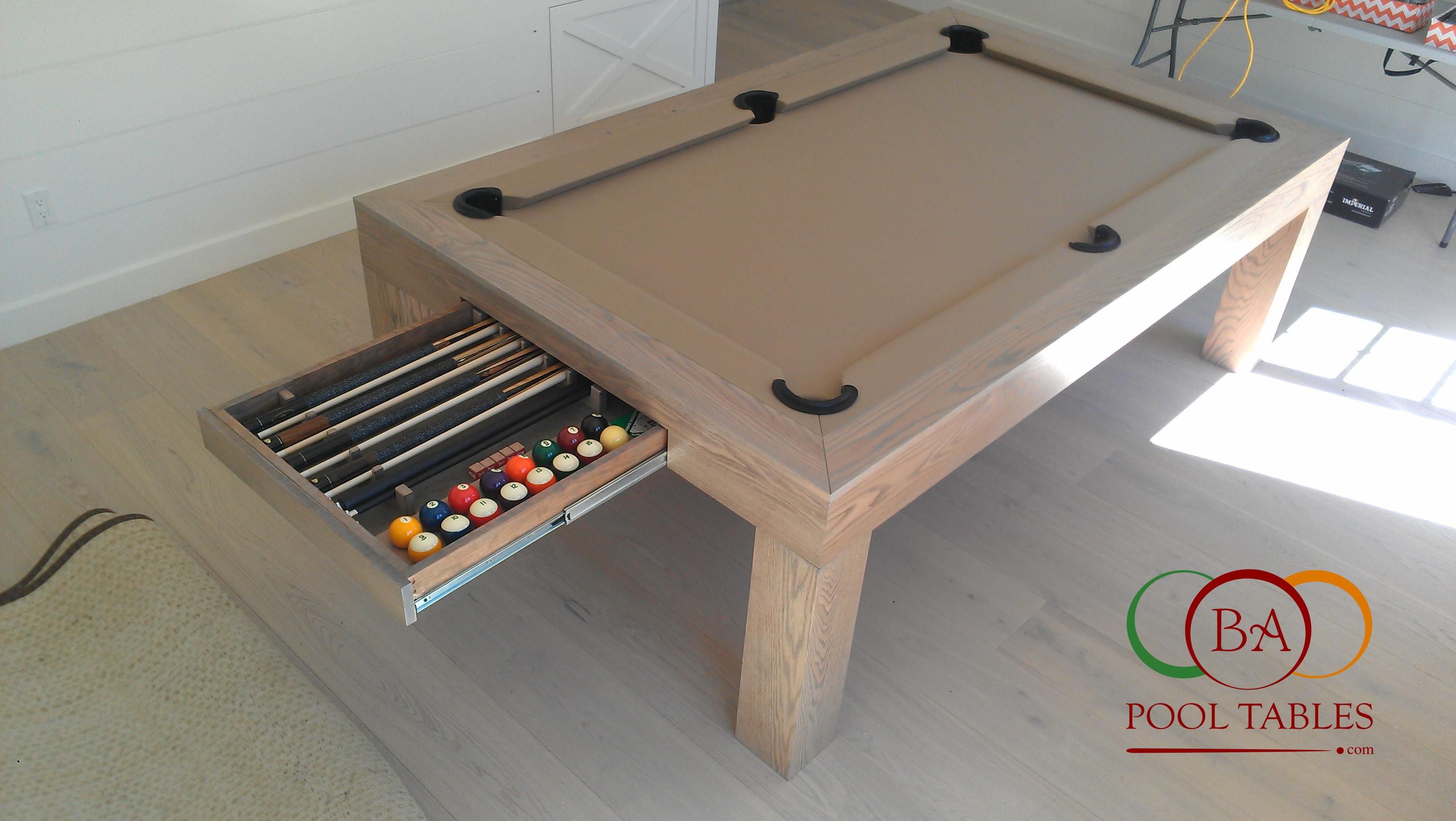 CONTEMPORARY POOL TABLES · CONTEMPORARY POOL TABLES