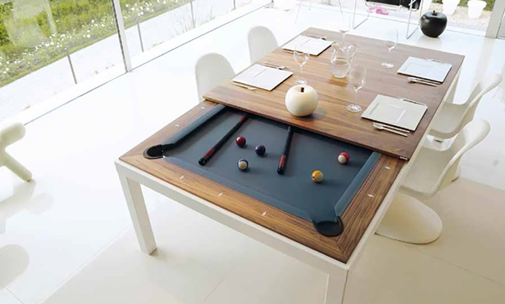 Traveller Location : Fusion Pool Table And Dining Table : Convertible Pool Table :  Sports & Outdoors