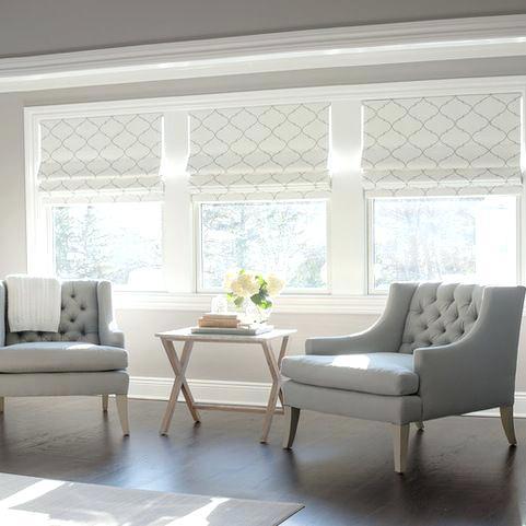Window Coverings Ideas Living Room Bay Window Curtain Ideas Living