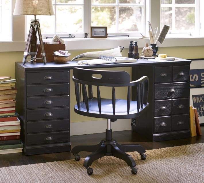 Printer's Rectangular Desk | Pottery Barn