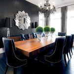 Black dining table decorating ideas for   your kitchen