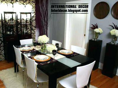 Black Dining Room Furniture Decorating Ideas Dining Room Decorating