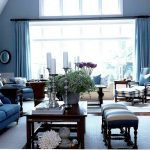 Reasons to have a modern blue living room   furniture ideas