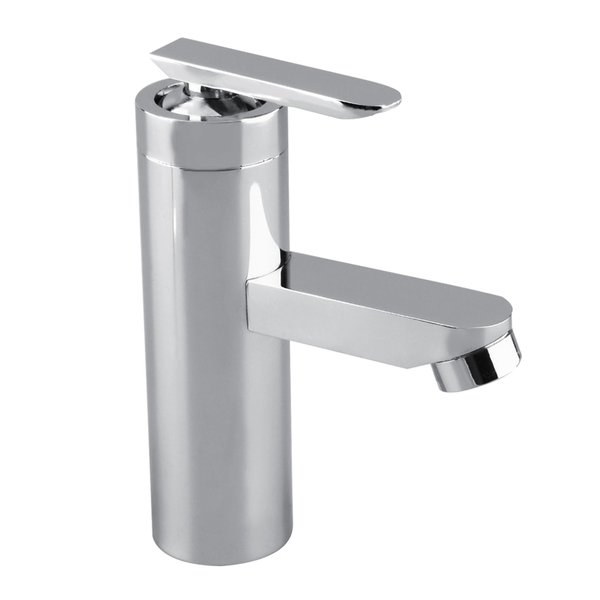 Shop Brushed Chrome Bathroom Faucet Single Handle - Free Shipping On