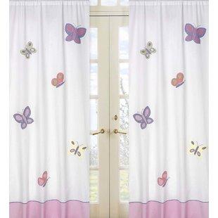 Curtains With Butterflies   Wayfair
