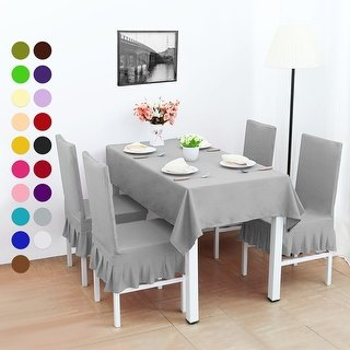 Shop 4Pcs Stretch Dining Room Chair Covers Seat Protector - On Sale - Free  Shipping On Orders Over $45 - Traveller Location - 22650701