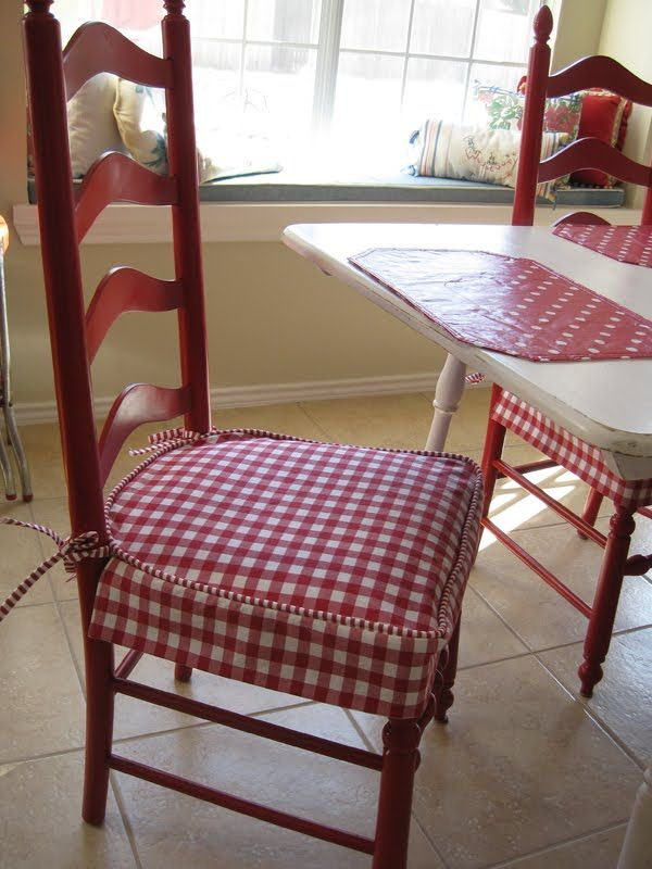 Brookhollow Lane: Kitchen Chair Covers