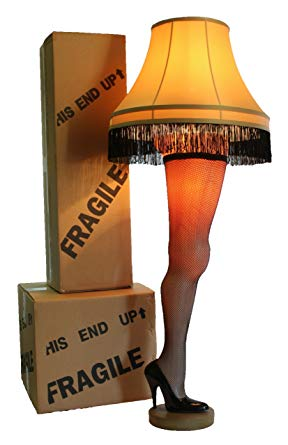 "A Christmas Story Deluxe Full Size 50"" Leg Lamp"