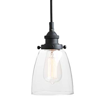 Pathson Retro Pendant Lighting, Industrial Small Hanging Light with