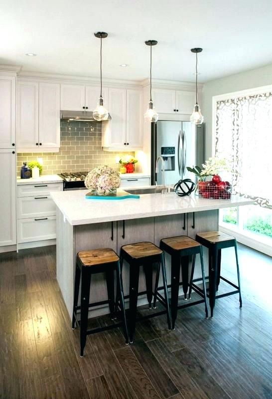 Pendant Lights Over Kitchen Island Clear Glass Pendant Lights For