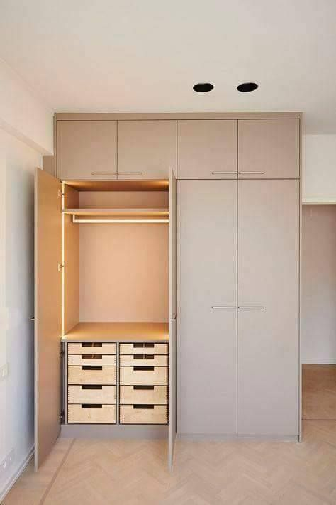 Eye Catching Contemporary Bedroom Cupboard Designs - Decor Units