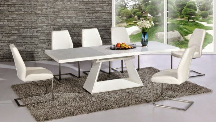 10 Extendable Dining Tables Of Glass Wood And Plastic Extendable Modern  Dining Table