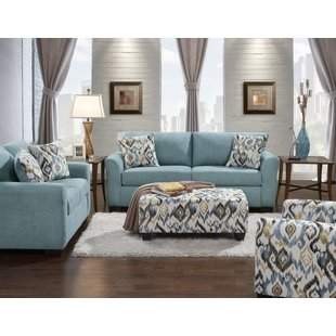Mazemic 2 Piece Living Room Set. By Roundhill Furniture