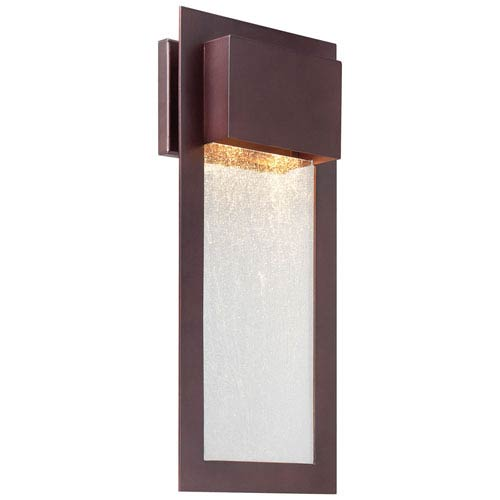 Vernon Bronze 20-Inch Two-Light Outdoor Wall Mount