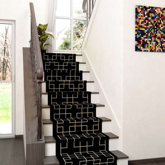Modern & Contemporary Stair Runners UK | Stair Rods Direct