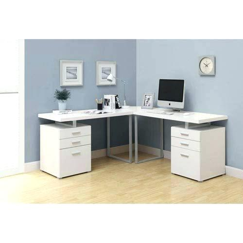 White Contemporary Desk Contemporary Writing Desk Computer Desk