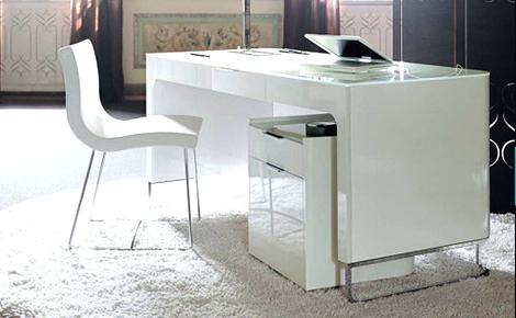 Modern White Corner Desk Interior Architecture Gorgeous White