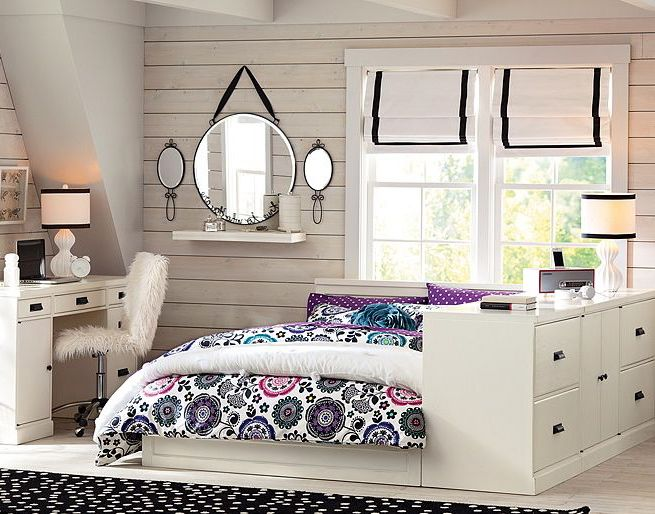 Wonderful Bedrooms Designs for Teenage Girls: Appealing Designs
