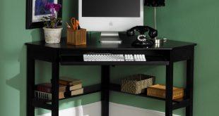 Corner Computer Desk - Black