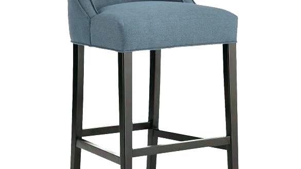 Blue Fabric Bar Stools Fabric Bar Stool Brushed Smoke Legs Denim