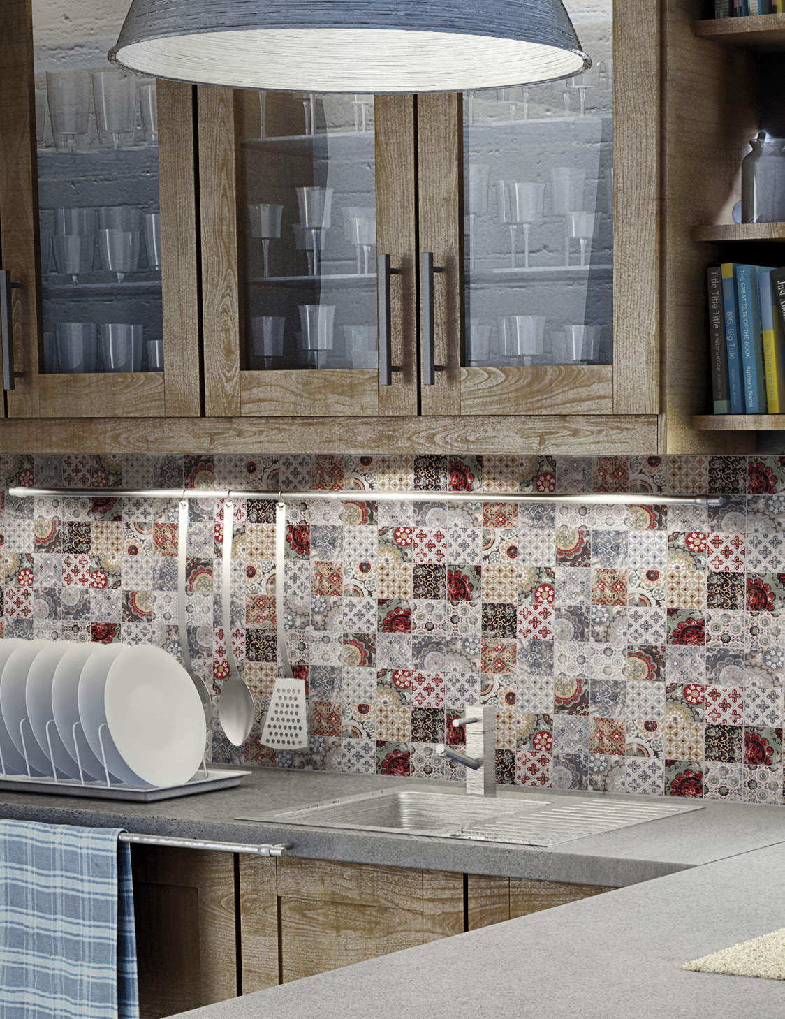 View in gallery patchwork-backsplash-country-kitchen-artistic-tile-4.jpg