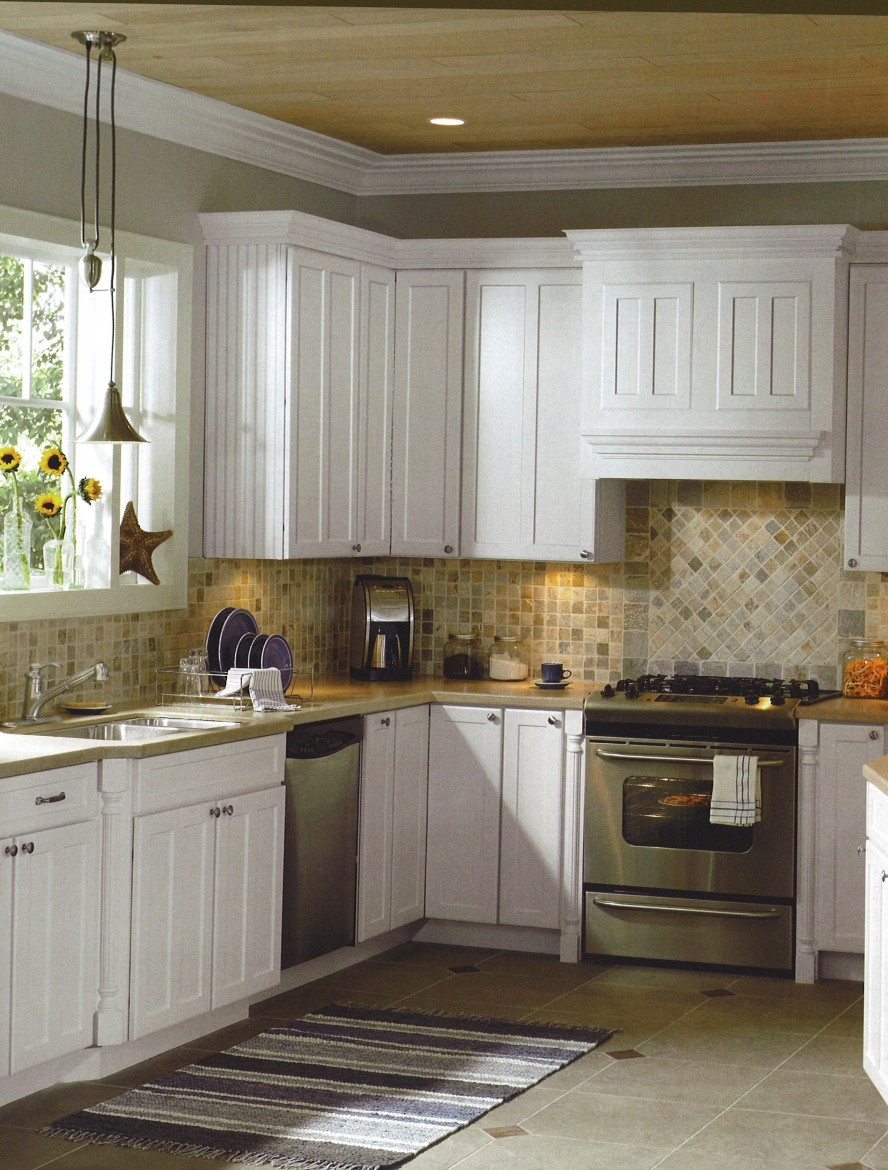 Country Kitchen Backsplash Ideas Donchilei intended for size 888 X 1170