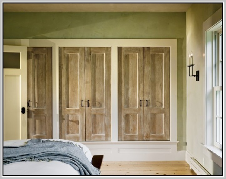 Image for Custom Bifold Closet Doors Decoration Brilliant