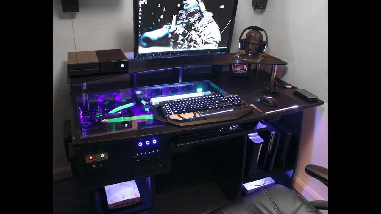 ULTIMATE Gaming PC Custom DESK Build Log