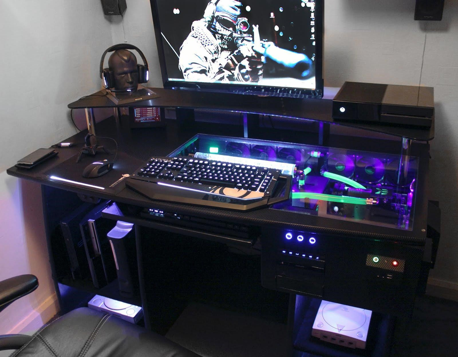 Custom gaming computer desk – all about   gaming