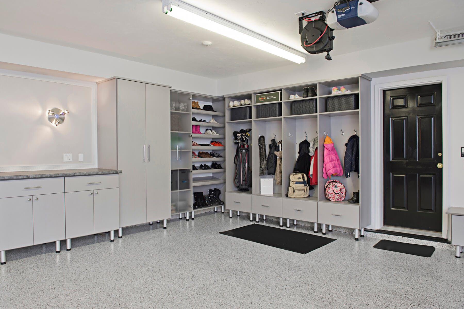 garage photo studio Garages_184. click to like grey cabinets