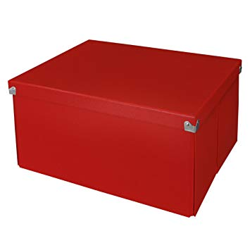 Amazon.com: Pop n' Store Decorative Storage Box with Lid