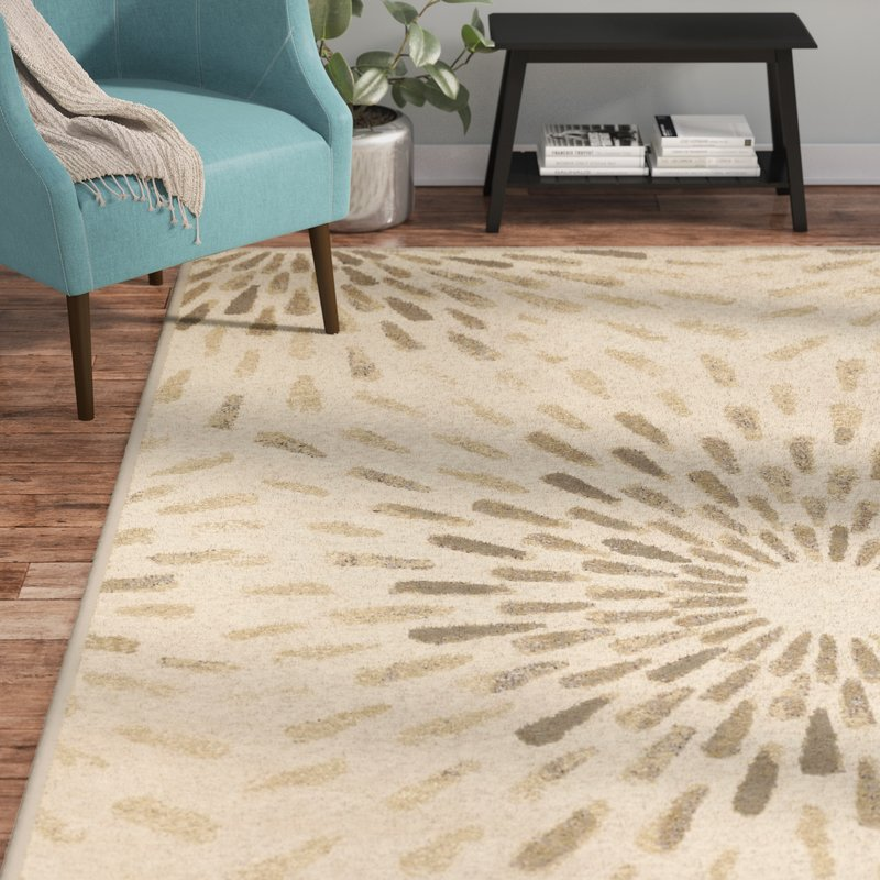Best Area Rugs, Best Contemporary Area Rugs, Modern Area Rugs, Gracie Ivory  Area