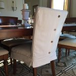 Dining room chair slipcovers: best way to   give a new look to dining room