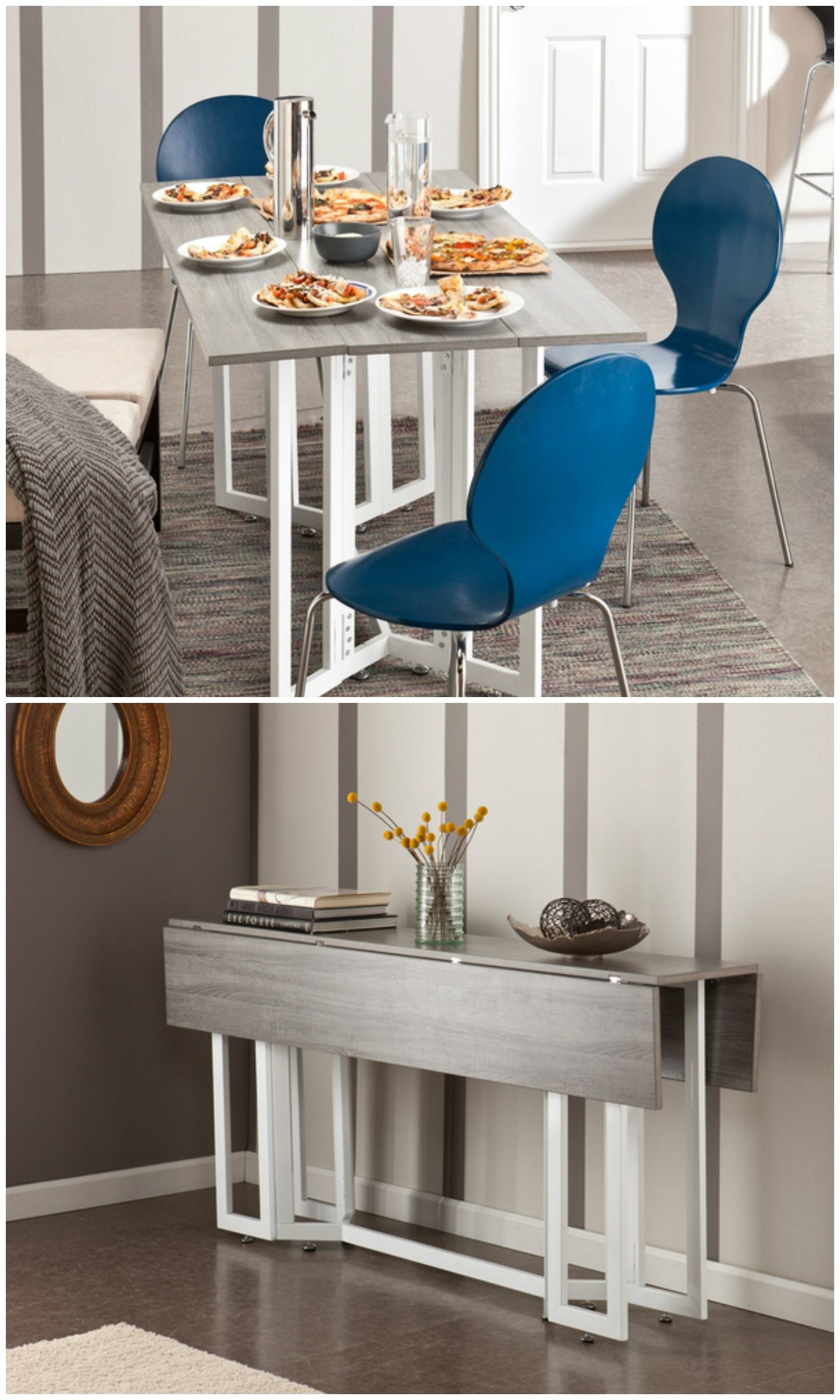 Dining room tables for small spaces and   their advantages