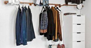 Clothing Storage, Diy Clothes Storage, Clothing Racks, No Closet Bedroom,  Clothes Rack