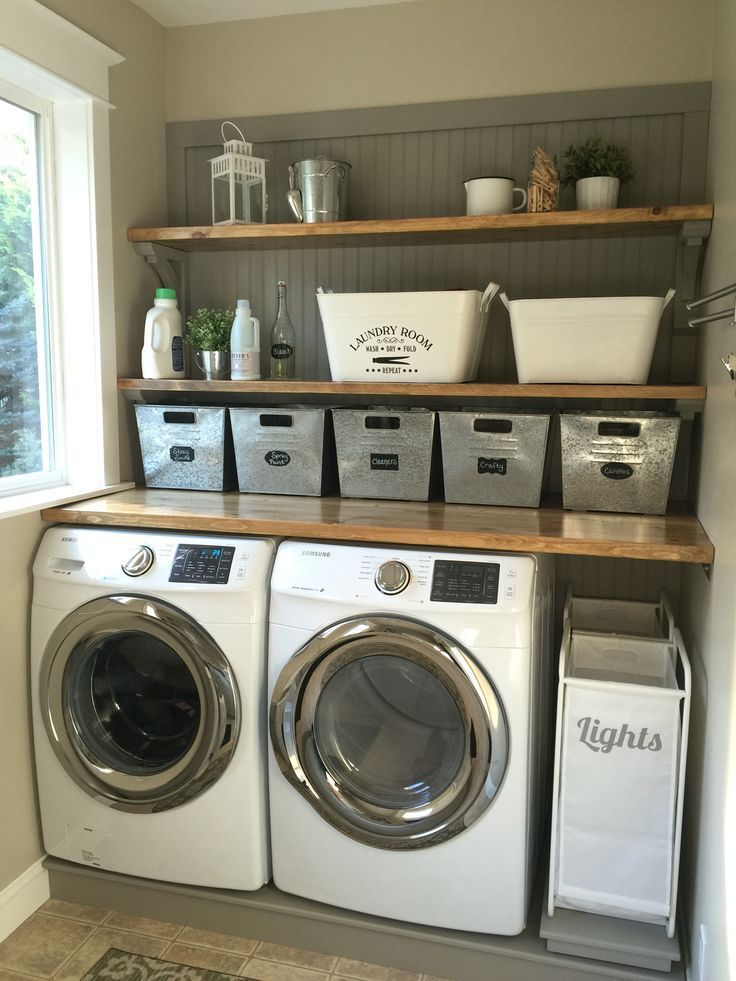 Incredibly Clever Basement Laundry Room Ideas basement laundry room  #basement #DIY (laundry room ideas) Tags: #Makeoover basement laundry room,  design,