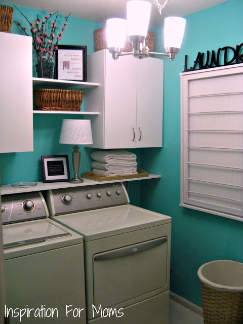 I love it too. laundry room organizer 12