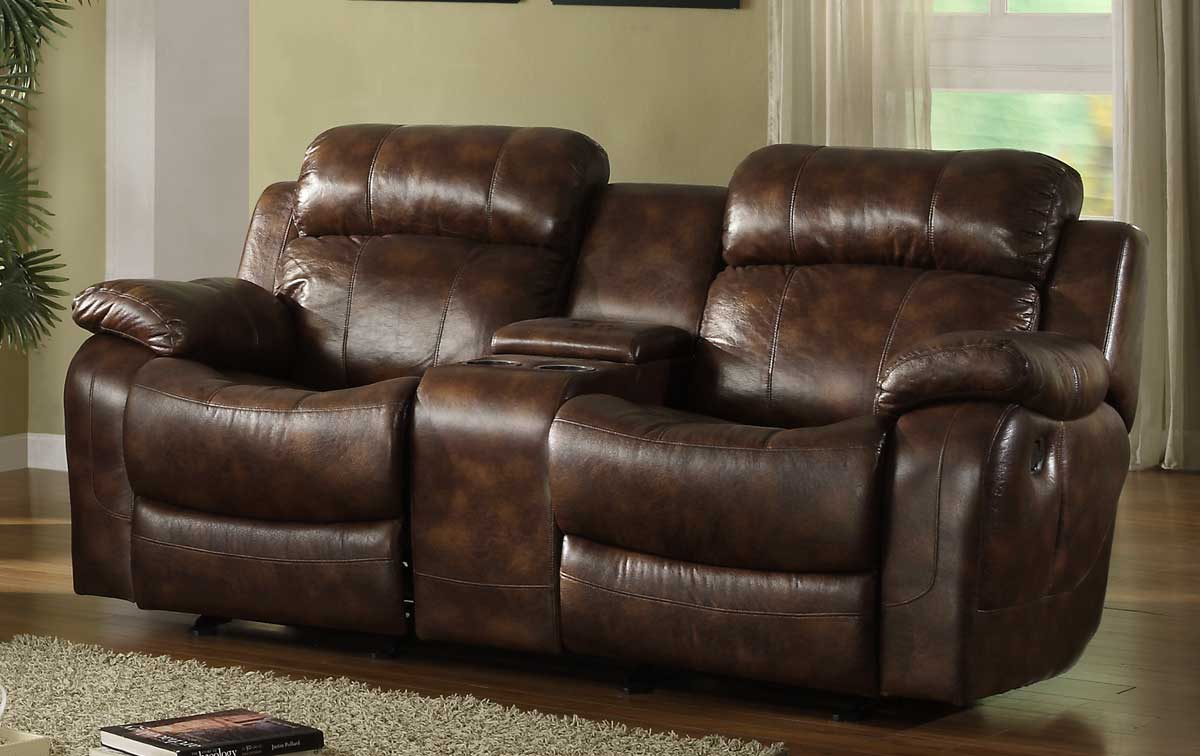 Double Rocker Recliner | Recliner Loveseat | Leather Swivel Recliner
