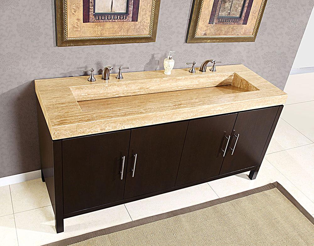 Double sink bathroom vanity top – a   perfect countertop